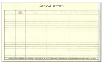 Medical Records Page